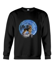 GAEA - German Shepherd Moon Bling 2703 Crewneck Sweatshirt thumbnail