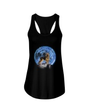 GAEA - German Shepherd Moon Bling 2703 Ladies Flowy Tank thumbnail