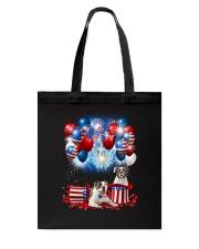 American Bulldog Holiday D2105 Tote Bag thumbnail