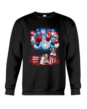American Bulldog Holiday D2105 Crewneck Sweatshirt thumbnail