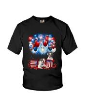 American Bulldog Holiday D2105 Youth T-Shirt thumbnail