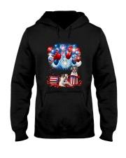 American Bulldog Holiday D2105 Hooded Sweatshirt thumbnail