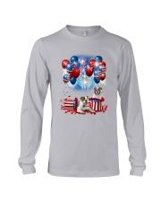 American Bulldog Holiday D2105 Long Sleeve Tee thumbnail
