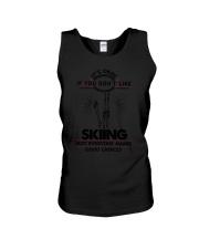 Skiing Good Choices 2504 Unisex Tank thumbnail