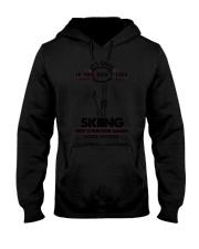 Skiing Good Choices 2504 Hooded Sweatshirt thumbnail