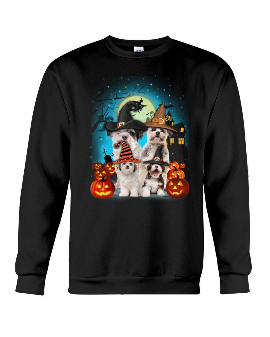 Gaea- Shih Tzu Halloween- 1508- 14 Crewneck Sweatshirt