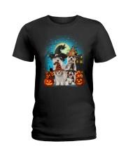 Gaea- Shih Tzu Halloween- 1508- 14 Ladies T-Shirt thumbnail
