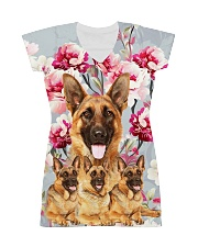 German Shepherd Flower 2304 All-over Dress thumbnail