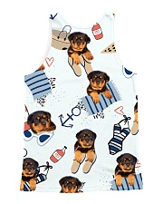 Rottweiler Summer Pattern 1406 All-over Unisex Tank back