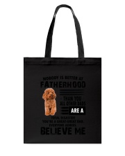 Poodle Believe Me 0506 Tote Bag thumbnail