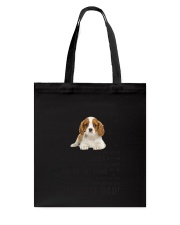 Cavalier King Charles Spaniel Human Dad 0206 Tote Bag tile