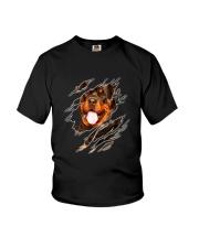 Rottweiler  Scratch 0803  Youth T-Shirt thumbnail