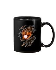 Rottweiler  Scratch 0803  Mug thumbnail