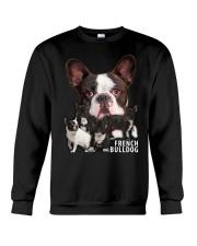 French Bulldog Awesome Crewneck Sweatshirt thumbnail