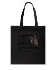 Greyhound Property Laws 0806 Tote Bag tile