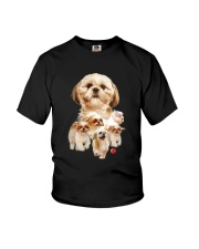 GAEA - Shih Tzu Running 1303 Youth T-Shirt thumbnail