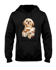 GAEA - Shih Tzu Running 1303 Hooded Sweatshirt thumbnail