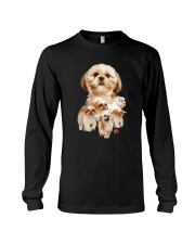 GAEA - Shih Tzu Running 1303 Long Sleeve Tee thumbnail
