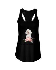 Poodle Love Woman 2104 Ladies Flowy Tank thumbnail