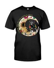 Rottweiler Bone Moon Classic T-Shirt front