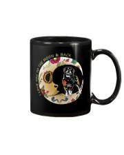 Rottweiler Bone Moon Mug thumbnail