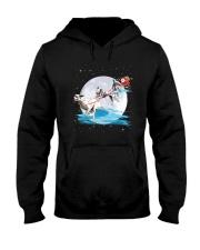 GAEA - Dalmatian Santa - 1011 - 62 Hooded Sweatshirt front