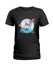 GAEA - Dalmatian Santa - 1011 - 62 Ladies T-Shirt thumbnail
