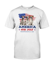 Jack Russell Terrier 4th7 0606 Classic T-Shirt front