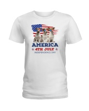Jack Russell Terrier 4th7 0606 Ladies T-Shirt thumbnail