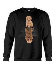 Poodle Dreaming Crewneck Sweatshirt thumbnail