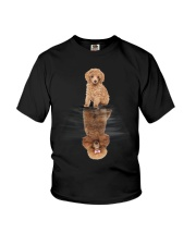 Poodle Dreaming Youth T-Shirt thumbnail