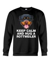 Rottweiler Keep Calm Crewneck Sweatshirt thumbnail