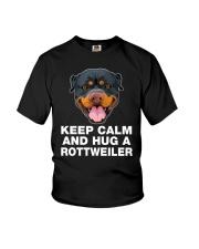 Rottweiler Keep Calm Youth T-Shirt thumbnail