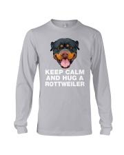 Rottweiler Keep Calm Long Sleeve Tee thumbnail