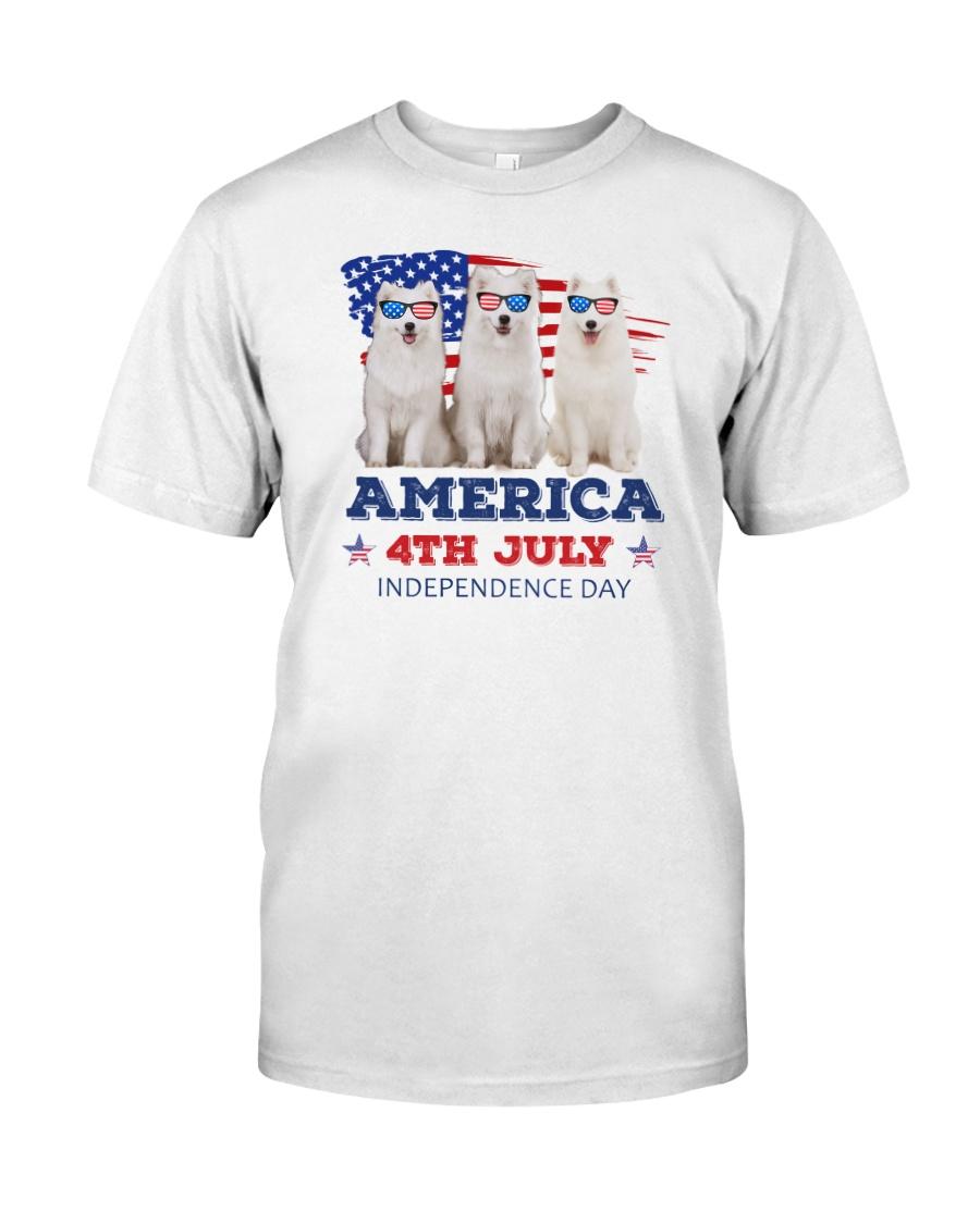 Samoyed 4th7 0706 Classic T-Shirt