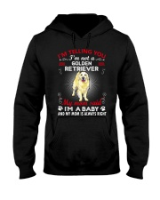 Golden Retriever Telling Mom Hooded Sweatshirt thumbnail