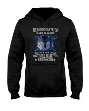 Wolf Stronger 1005 Hooded Sweatshirt thumbnail