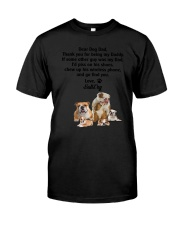 Bulldog Love Dad 3005 Classic T-Shirt tile