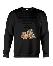 Bulldog Love Dad 3005 Crewneck Sweatshirt tile