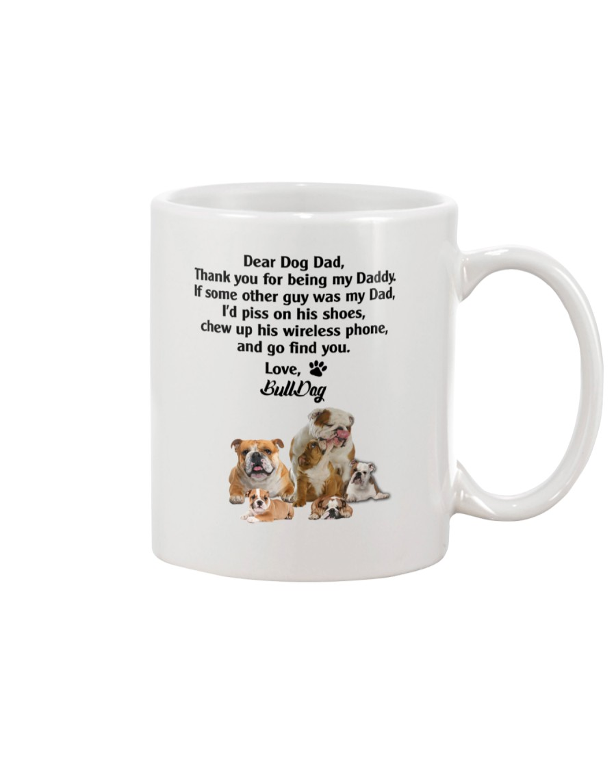 Bulldog Love Dad 3005 Mug
