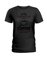 Coffee Good Choices 2504 Ladies T-Shirt thumbnail