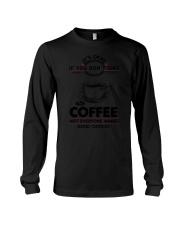Coffee Good Choices 2504 Long Sleeve Tee thumbnail