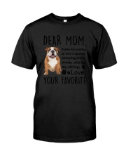 Bulldog Dear Mom 2905 Classic T-Shirt thumbnail
