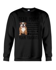 Bulldog Dear Mom 2905 Crewneck Sweatshirt thumbnail