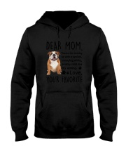 Bulldog Dear Mom 2905 Hooded Sweatshirt thumbnail