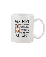 Bulldog Dear Mom 2905 Mug front