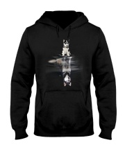Siberian Husky Dream Hooded Sweatshirt thumbnail