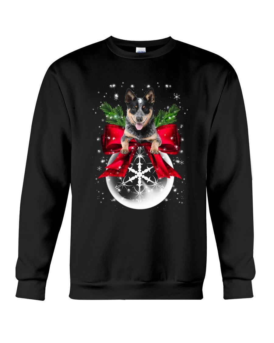 Australian Cattle Dog Xmas - 0610 Crewneck Sweatshirt
