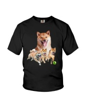 GAEA - Shiba Inu Runnig 1403 Youth T-Shirt tile