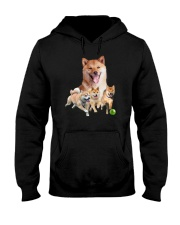 GAEA - Shiba Inu Runnig 1403 Hooded Sweatshirt thumbnail